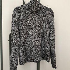 Land's End Knit Turtleneck Sweater.